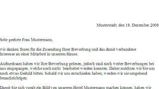 antwort auf bewerbung hotel lexikon fandom powered by wikia - Bewerbung Empfangsmitarbeiter