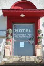 Hotel City Residence Frankfurt an der Oder Eingang