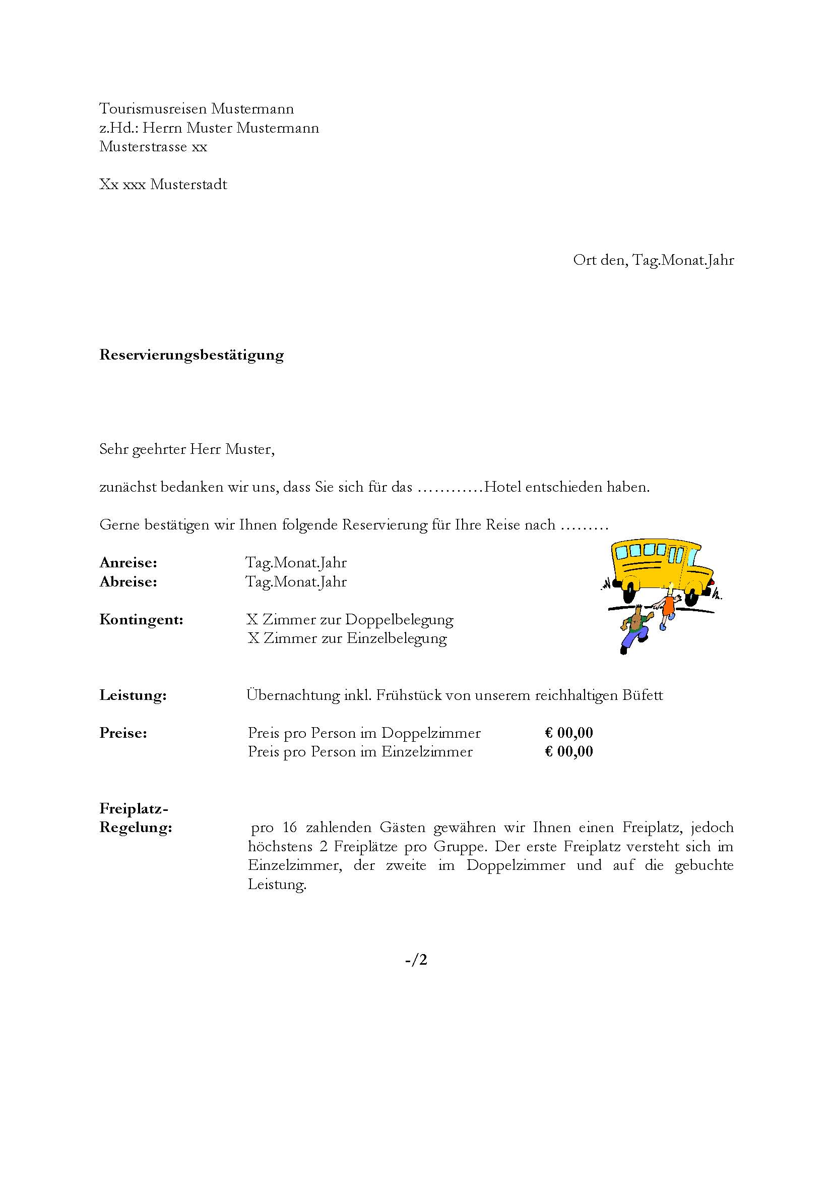 Charmant Buchungsbestätigungsvorlage Fotos - Entry Level Resume ...