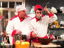 Lenny und Florian in der Küche