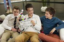 Gerrit, Marcel und Patrick Interview hinter den Kulissen