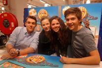 Gerrit, Carola, Fan und Patrick (Autogrammstunde in der Niederlande)