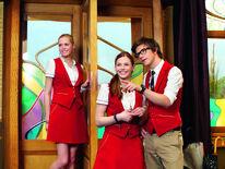 Victoria, Anna und Tom