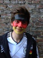 Patrick vor dem Spiel Deutschland gegen Niederlande EM 2012