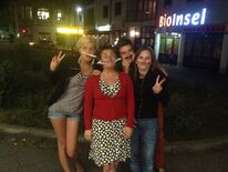 Hanna, Ilka, Patrick und Carola