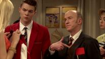 Richard zeigt die rote Karte