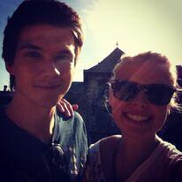 Patrick und Hanna beim Rubenshuis Antwerpen