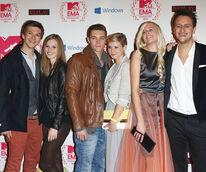 Cast MTV EMA´s 2012