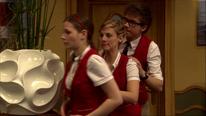 Anna, Liv und Tom starten den Versuch an den Generalschlüssel zu gelangen