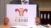 Jens August presenterer ny logo
