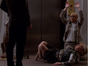 Handsup ved heisen