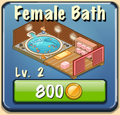 Female bath Facility