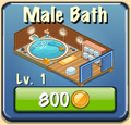 Male bath Facility