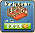 Darts Game Facility