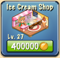 Ice cream shop Facility