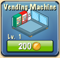 Vending machine Facility