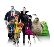 Hotel Transylvania 2 Textless Banner