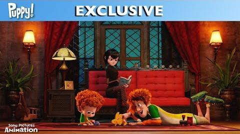Puppy A Hotel Transylvania Short - Easter Egg