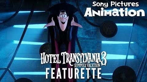 Creating Dracula with Director Genndy Tartakovsky HOTEL TRANSYLVANIA 3