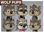 CharactersProfile WolfPups