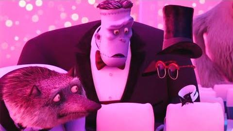 HOTEL TRANSYLVANIA 2 Movie Clip - Invisible Date (2015) Adam Sandler, Selena Gomez Animated Movie HD