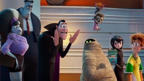 Hotel Transylvania 3 Monsters Overboard Launch Trailer