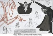 Dracula Craig Kellman and Genndy Tartakovsky