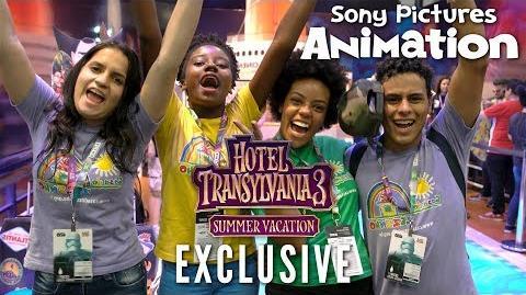 HOTEL TRANSYLVANIA 3 SUMMER VACATION - Comic Con Experience 2017