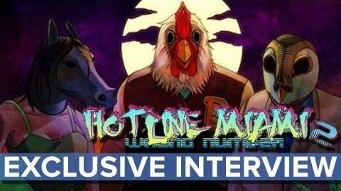 Hotline Miami 2- Wrong Number - EXCLUSIVE Interview - Eurogamer