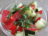 Cucumber-Tomato Sauce by Elle Bee