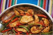 Turkey fajitas with cayenne
