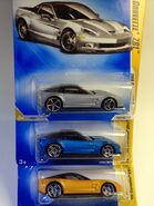 Corvette ZR1 Color Variation