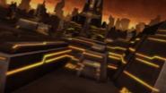 Planeta Sark - Zona de Fábricas