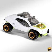 2019 Hot Wheels Dune Daddy 2nd colour right