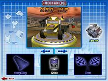 Long Shot was Playable in Hot wheels mechanix PC 2