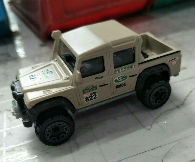 hot wheels land rover defender custom
