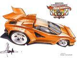 Lamborghini Countach ('Tooned)