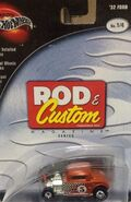 100% Preferred 2003 Rod & Custom Magazine 1-4 '32 Ford -Mooneyes- Orange