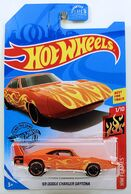 11 - '69 Dodge Charger Daytona 2019 HW Flames - Orange