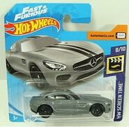 2019 Hot Wheels '15 Mercedes-AMG GT