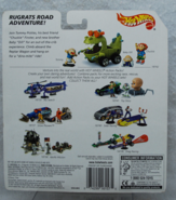 Back of The Rugrats Movie Hot Wheels Action Pack