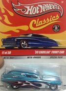 Classics 2009 Series 5 17-30 '59 Cadillac Funny Car -Mooneyes- Blue