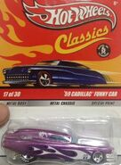 Classics 2009 Series 5 17-30 '59 Cadillac Funny Car -Mooneyes- Purple