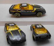 Cops corvette