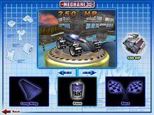 Silhouette II was Playable in Hot Wheels Mechanix PC 1995 Dark Rider Series