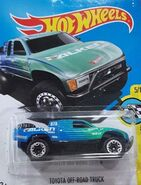 2017 HW Speed Graphics 05-10 078-365 Toyota Baja Off-Road Truck 'Falken' Blue