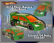 2012 Thrill Racers-City Stunt Citroen C4 Rally