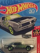 2018 - HW Flames 5-10 - Custom '67 Pontiac Firebird - Zamac - 012