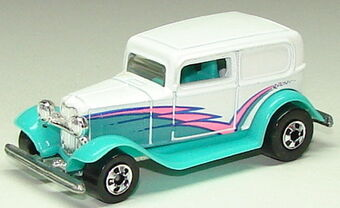 Hot Wheels Oakland A/'s 1932 Ford Delivery