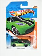 007a,TeslaRoadster,TrackStars,Green-Black,Long